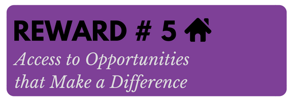 Button 5 Access to Opportunities that Make a Difference
